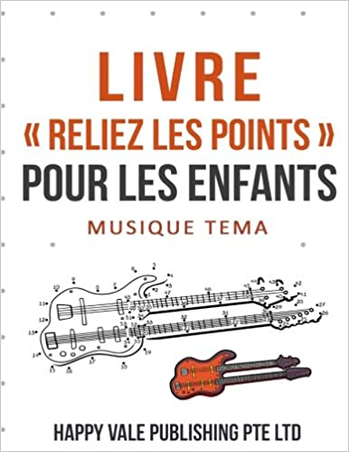 Livre Reliez Les Points Pour Les Enfants Musique Tema