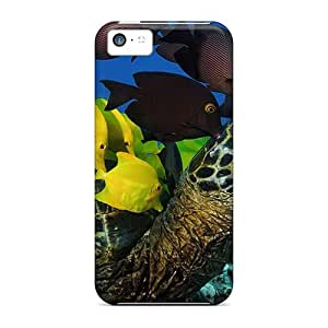 New Style DaMMeke Sea Turtle Premium Tpu Cover Case For Iphone 5c