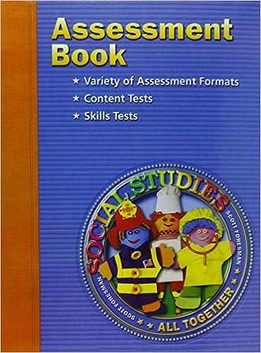 Assessment Book Grade 1 Blackline Master
