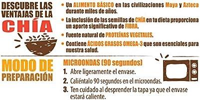 Brillante Benefit Legumbres Chía y Verduras 250 gr: Amazon.es ...