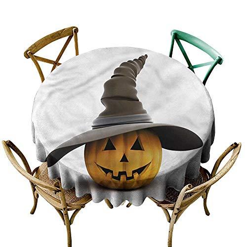 HeKua Pumpkin,Wholesale tablecloths Witch Hat Smiling Figure D 50