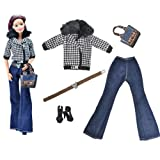 FlyerShop(TM) 5Pcs/Set Doll Coat Outfit For Barbie FR Kurhn Doll Clothes Accessories QW
