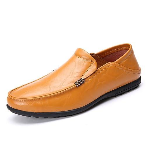 Hombres Zapatos Casuales Moda Verano Zapatos Transpirables deslizarse en Zapatos Hombres Pisos Mocasines: Amazon.es: Zapatos y complementos