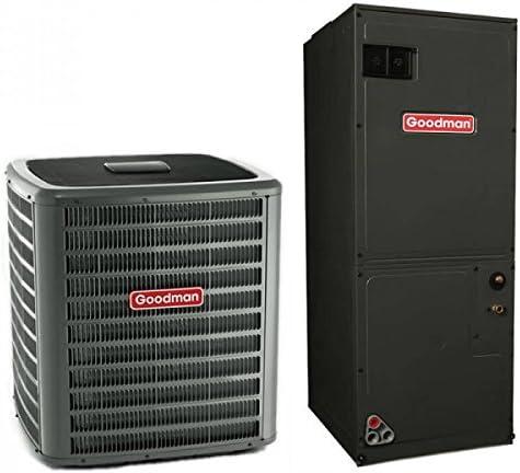 1.5 Ton Goodman 15 Seer R410ein Heat Pump Split System (8 Kilowatt)