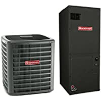 2 Ton Goodman 16 SEER R410A Two-Stage Variable Speed Heat Pump Split System (5 Kilowatt)