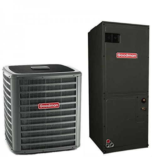 (3 Ton Goodman 16 SEER R410A Variable Speed Heat Pump Split System (15 Kilowatt))