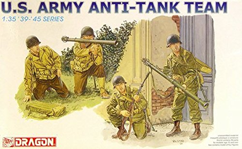 35 Us Army Tank - Dragon Models 1/35 U.S. Army Anti-Tank Team Kit