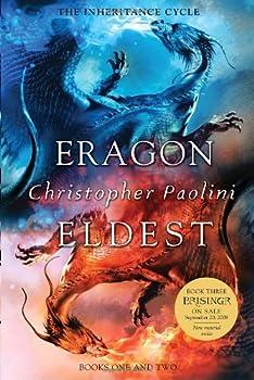 Eragon & Eldest (Inheritance, #1-2) 0375857044 Book Cover