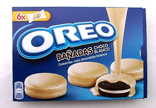 Kraft OREO WHITE CHOCOLATE COOKIES Dipped / Covered (SPECIAL EDITION) 8.67oz x 3 boxes by Oreo Chocolate Dipped Oreos