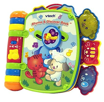 Amazon.com: Vtech Rhyme y descubre libro: Toys & Games