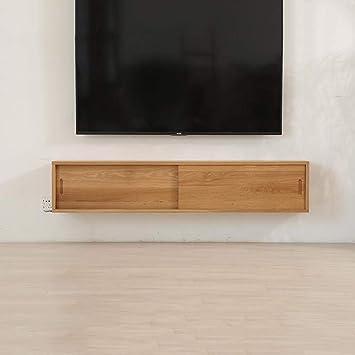 Gabinete de TV en la pared Mueble de pared colgante Estante de la ...
