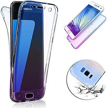 Funda delantera y trasera Samsung Galaxy S8 Plus, Vandot Cristal ...