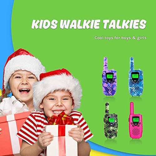 FAYOGOO Walkie Talkies for Kids, 22-Channel FRS/GMRS Radio