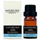 Nature Hue - Eucalyptus Essential Oil 10 ml, 100% Pure Therapeutic Grade, Undiluted