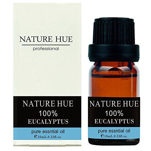 Nature Hue - Eucalyptus Essential Oil 10 ml, 100% Pure Therapeutic Grade, - Purpose Pads Potty