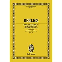 Harold en Italie: Op. 16 (Eulenburg Studienpartituren)
