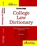 College Law Dictionary: With Legal Maxims, Latin