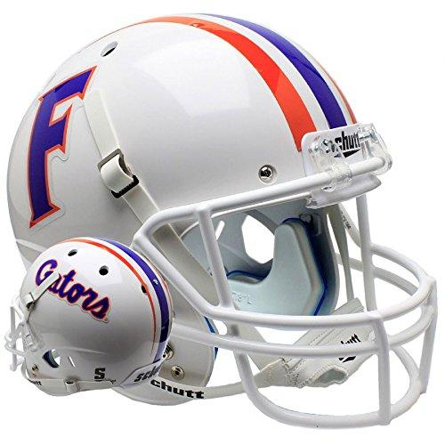 Florida Gators White Officially Licensed Full Size XP Replica Football Helmet
