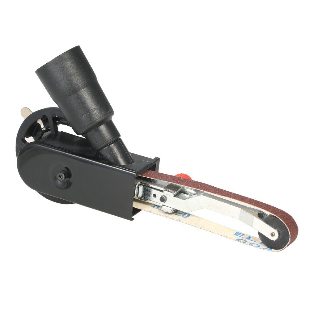 KKmoon Multifunction Mini DIY Sander Sanding Belt Adapter Bandfile Belt Sander for 115mm 4.5'' and 125mm 5'' Electric Angle Grinder
