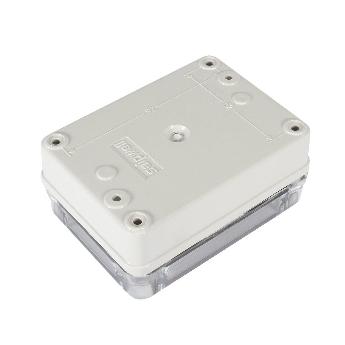 80mmx110mmx45mm Caja de conexiones ABS Caja de proyecto universal con cubierta transparente para PC 0de423f071fd19eee30fbe19d08016d9 Aexit 3.2 x4.3 x1.8