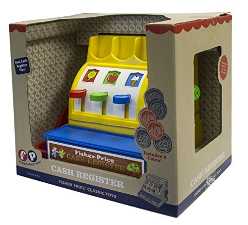 Basic Fun Fisher-Price Classics Retro Cash Register