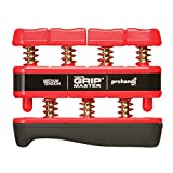 The Grip Master Gripmaster 14002-RED Hand Exerciser Red, Medium Tension (7-Pounds per Finger)