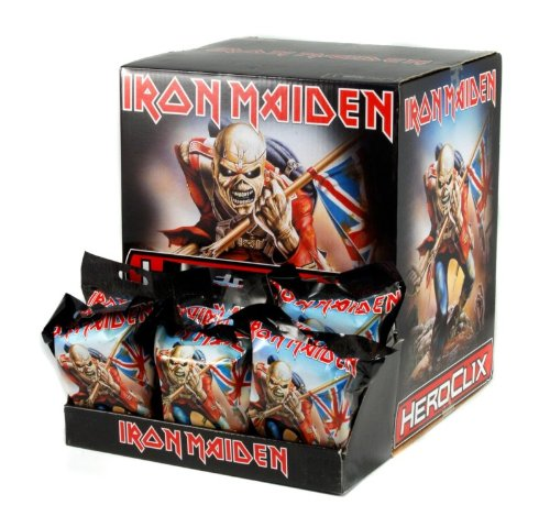 Iron Maiden Heroclix 24ct Gravity Feed with Display Box by WizKids Iron Maiden Eddie
