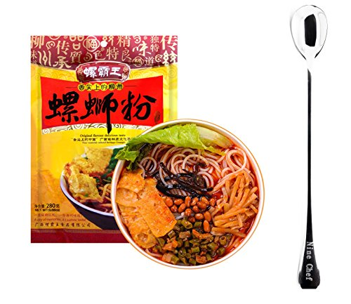 Price comparison product image GuangXi LiuZhou SPECIALTY Snail Rice Noodle Instant Vermicelli (Luo Ba Wang ()