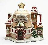 Cosmos 10933 Gifts Ceramic Santa's Village Cookie Jar, 11-3/4-Inch