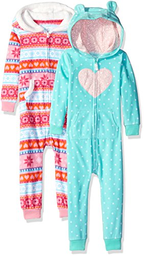 carters-girls-2-pack-one-piece-romper-heart-snowflake-3-months