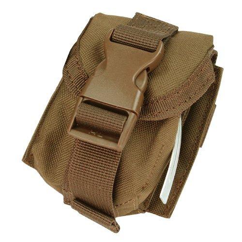 (CONDOR MA15 MOLLE Single Grenade Pouch Coyote Brown)