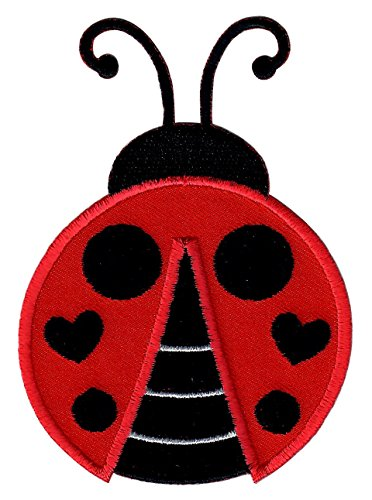 PatchMommy Iron On Patch, Ladybug - Appliques for Kids ()