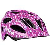 Lazer P 'Nut Children's Cycling Helmet, Children's, P'Nut, Purple Stars Insectnet, One Size