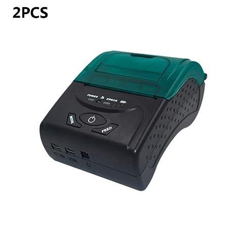 ZUKN Portátil Impresora Térmica De Etiquetas con USB ...