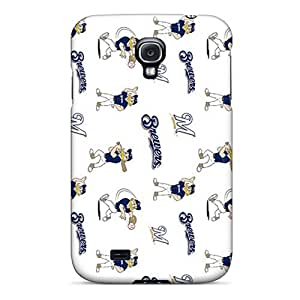 Fashion Tuw708QklC Case Cover For Galaxy S4(milwaukee Brewers)