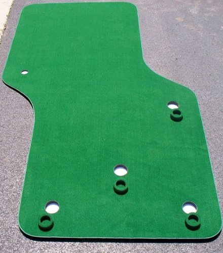 Big Moss Golf THE NATURAL 6' X 10' Practice Putting Chipping Green