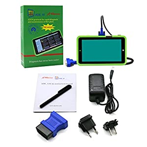 Autool ADEONOR ADE VIS OBDII AUTO Diagnostic Tool EPB DPF TPMS SRS Full System Code Scanner