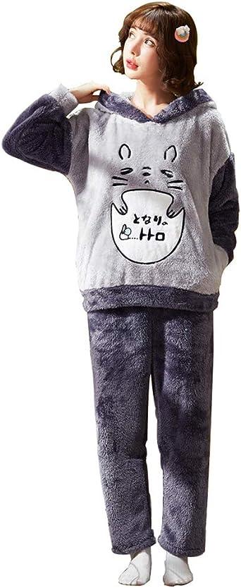 Juego de Pijama de Manga Larga para Parejas, Vestido de ...