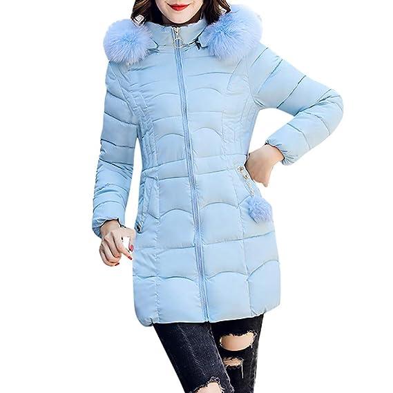 Outwear Warm Mode dicken Mantel warme mit Reißverschluss Kapuze Jacke Dicker Lässig iHENGH Bequem Pelzkragen Parka Damen Langen Winter Frauen Yg7v6bfy