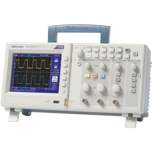 Manual Oscilloscope Tektronix (Tektronix TDS2022C 200 MHz, 2 Analog Channel Oscilloscope, 2 GS/s Sampling,)
