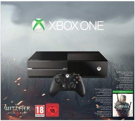 Xbox One - Consola + The Witcher 3: Wild Hunt: Amazon.es: Videojuegos