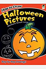 How to Draw Halloween Pictures (Dover How to Draw) Paperback