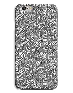 Black and White Swirls iPhone 6 Case