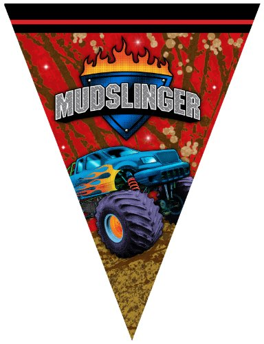 Creative Converting Mudslinger Flag Banner (Mudslinger Party Supplies compare prices)