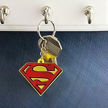 Superman Logotipo Llavero con Luz - Superman Llavero ...