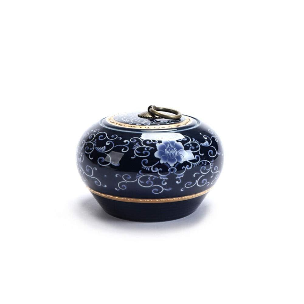 Purple Youshangshipin Pet Coffin, Close Relatives and Dear Pet Pet Cremation Souvenir Ceramic Enamel, Exquisite Purple Gorgeous (color   Purple)