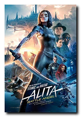 Mile High Media Alita Battle Angel Movie Poster 24x36 Inch Wall Art Portrait - Poster Angel Movie