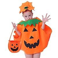 Seawhisper Fat Pumpkin Costume for Kids Deals