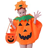 Seawhisper Fat Pumpkin Costume for Kids