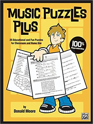 Book Music Puzzles Plus: 25 Educational and Fun Puzzles for Classroom and Home Use by Donald Moore (2005-05-01)